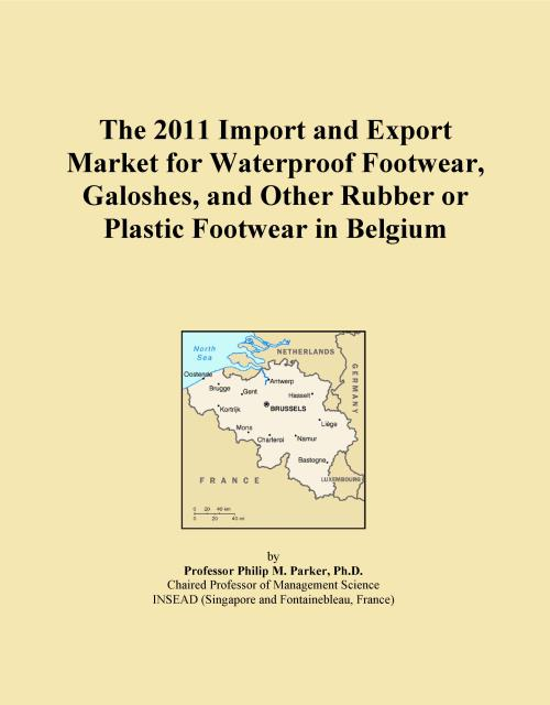 The 2011 Import and Export Market for Waterproof Footwear, Galoshes, and Other Rubber or Plastic Footwear in Belgium - Product Image