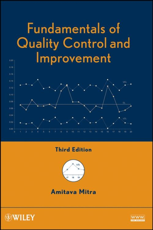 Fundamentals of Quality Control and Improvement. 3rd Edition - Product Image