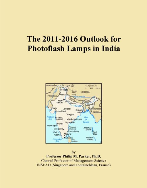 The 2011-2016 Outlook for Photoflash Lamps in India - Product Image