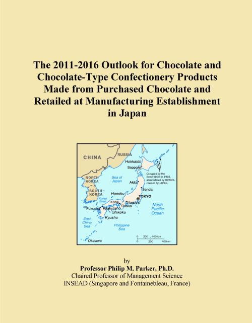 The 2011-2016 Outlook for Chocolate and Chocolate-Type Confectionery Products Made from Purchased Chocolate and Retailed at Manufacturing Establishment in Japan - Product Image