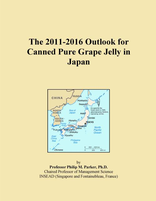 The 2011-2016 Outlook for Canned Pure Grape Jelly in Japan - Product Image