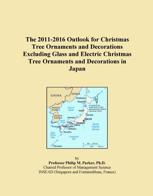 The 2011-2016 Outlook for Christmas Tree Ornaments and Decorations Excluding Glass and Electric Christmas Tree Ornaments and Decorations in Japan - Product Image