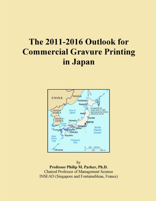 The 2011-2016 Outlook for Commercial Gravure Printing in Japan - Product Image