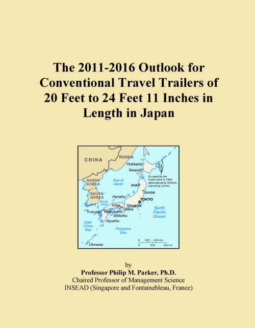 The 2011-2016 Outlook for Conventional Travel Trailers of 20 Feet to 24 Feet 11 Inches in Length in Japan - Product Image
