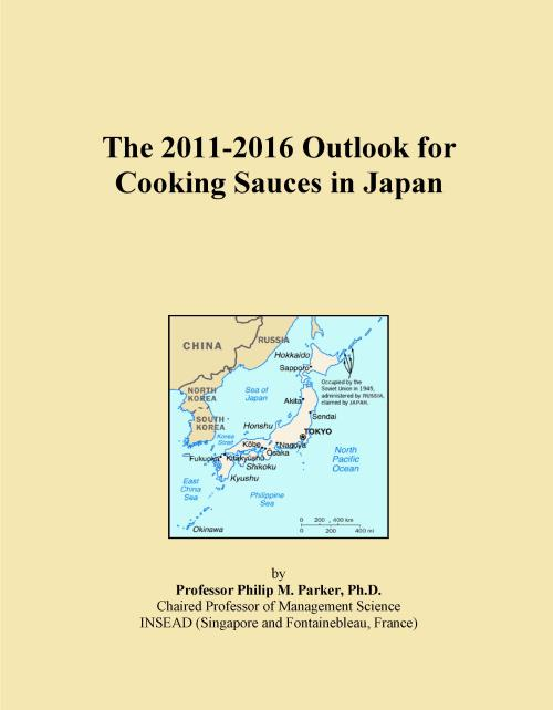 The 2011-2016 Outlook for Cooking Sauces in Japan - Product Image