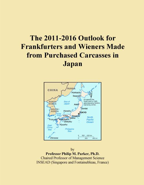 The 2011-2016 Outlook for Frankfurters and Wieners Made from Purchased Carcasses in Japan - Product Image