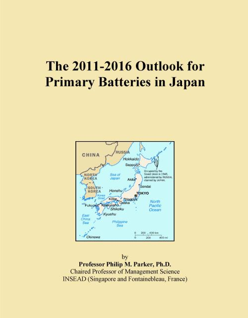 The 2011-2016 Outlook for Primary Batteries in Japan - Product Image