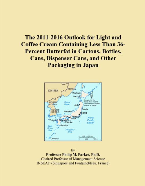 The 2011-2016 Outlook for Light and Coffee Cream Containing Less Than 36-Percent Butterfat in Cartons, Bottles, Cans, Dispenser Cans, and Other Packaging in Japan - Product Image
