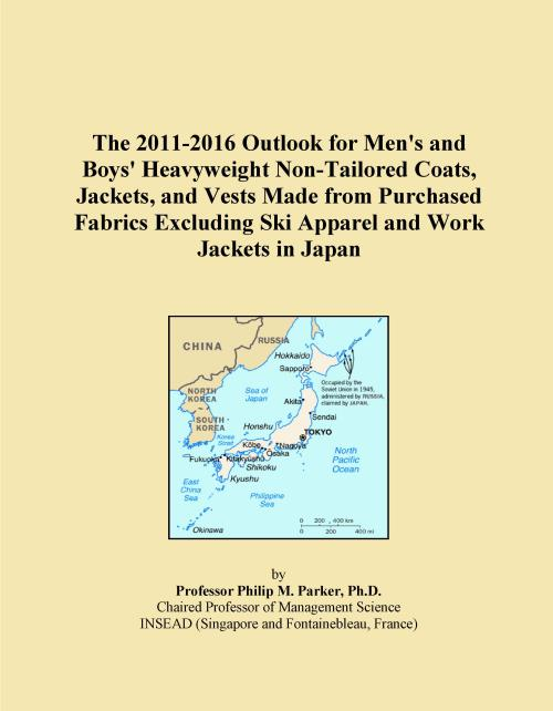 The 2011-2016 Outlook for Men's and Boys' Heavyweight Non-Tailored Coats, Jackets, and Vests Made from Purchased Fabrics Excluding Ski Apparel and Work Jackets in Japan - Product Image