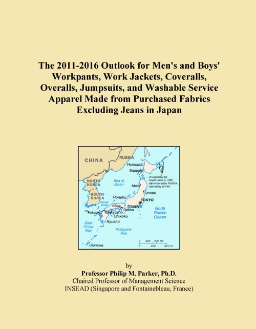 The 2011-2016 Outlook for Men's and Boys' Workpants, Work Jackets, Coveralls, Overalls, Jumpsuits, and Washable Service Apparel Made from Purchased Fabrics Excluding Jeans in Japan - Product Image