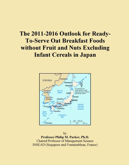 The 2011-2016 Outlook for Ready-To-Serve Oat Breakfast Foods without Fruit and Nuts Excluding Infant Cereals in Japan - Product Image