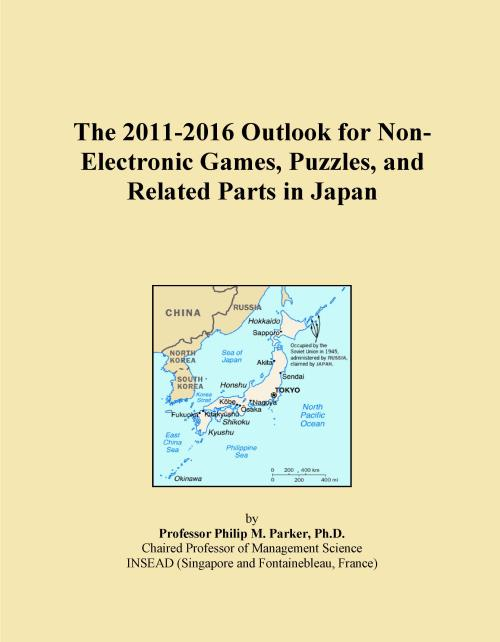 The 2011-2016 Outlook for Non-Electronic Games, Puzzles, and Related Parts in Japan - Product Image