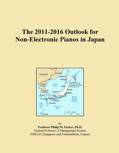 The 2011-2016 Outlook for Non-Electronic Pianos in Japan - Product Image