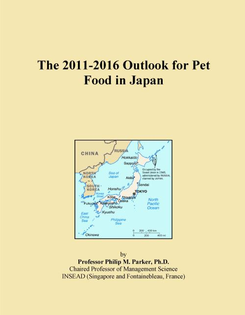 The 2011-2016 Outlook for Pet Food in Japan - Product Image