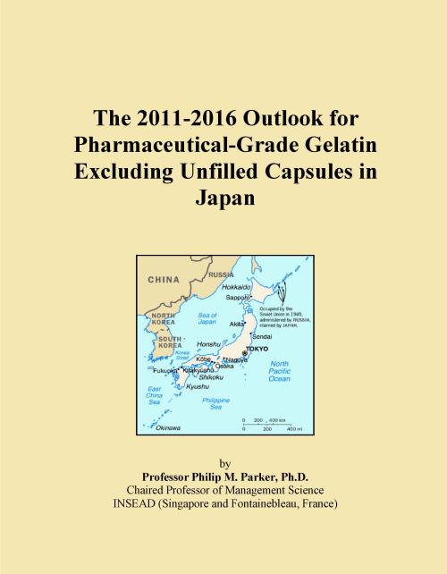 The 2011-2016 Outlook for Pharmaceutical-Grade Gelatin Excluding Unfilled Capsules in Japan - Product Image