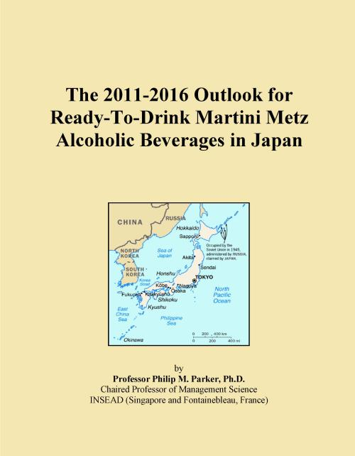 The 2011-2016 Outlook for Ready-To-Drink Martini Metz Alcoholic Beverages in Japan - Product Image