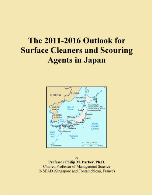 The 2011-2016 Outlook for Surface Cleaners and Scouring Agents in Japan - Product Image