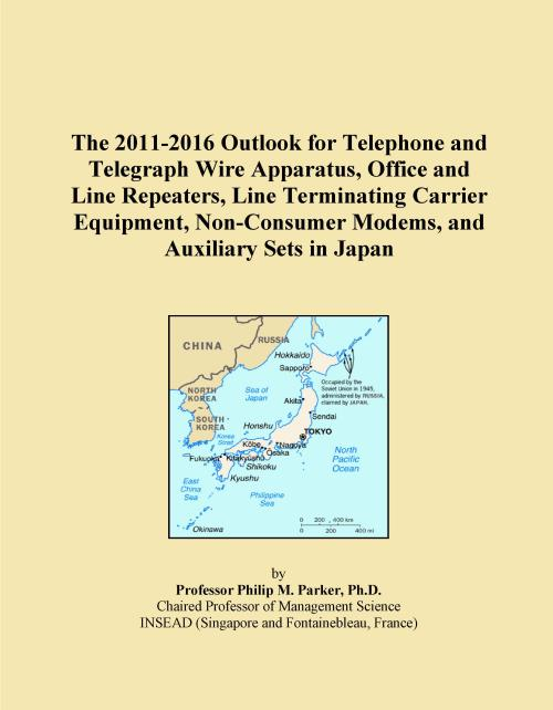 The 2011-2016 Outlook for Telephone and Telegraph Wire Apparatus, Office and Line Repeaters, Line Terminating Carrier Equipment, Non-Consumer Modems, and Auxiliary Sets in Japan - Product Image
