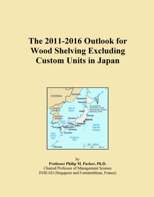 The 2011-2016 Outlook for Wood Shelving Excluding Custom Units in Japan - Product Image