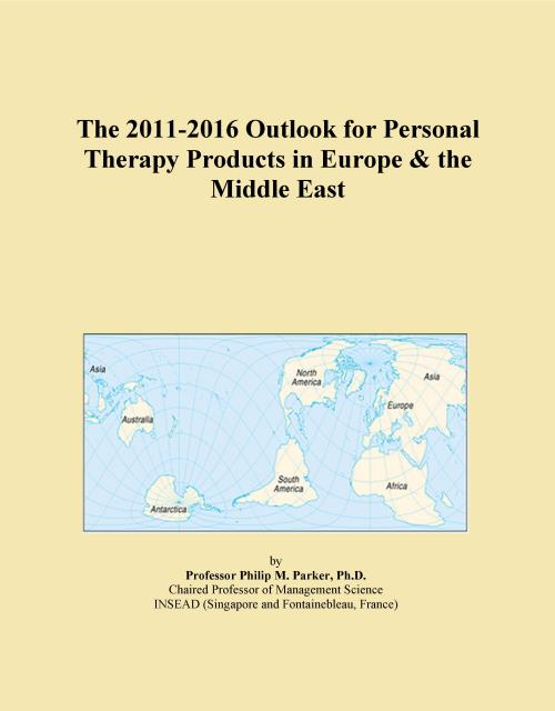 The 2011-2016 Outlook for Personal Therapy Products in Europe & the Middle East - Product Image