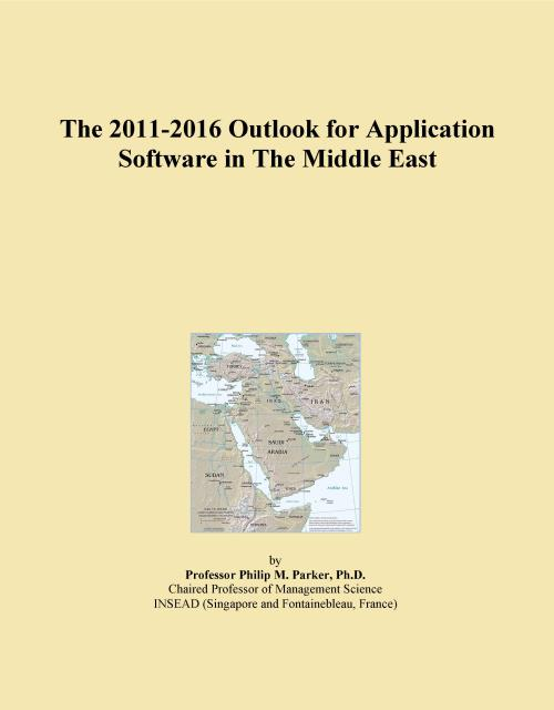 The 2011-2016 Outlook for Application Software in The Middle East - Product Image