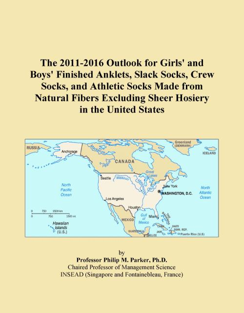 The 2011-2016 Outlook for Girls' and Boys' Finished Anklets, Slack Socks, Crew Socks, and Athletic Socks Made from Natural Fibers Excluding Sheer Hosiery in the United States - Product Image