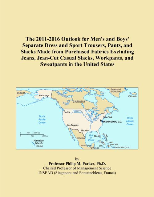 The 2011-2016 Outlook for Men's and Boys' Separate Dress and Sport Trousers, Pants, and Slacks Made from Purchased Fabrics Excluding Jeans, Jean-Cut Casual Slacks, Workpants, and Sweatpants in the United States - Product Image