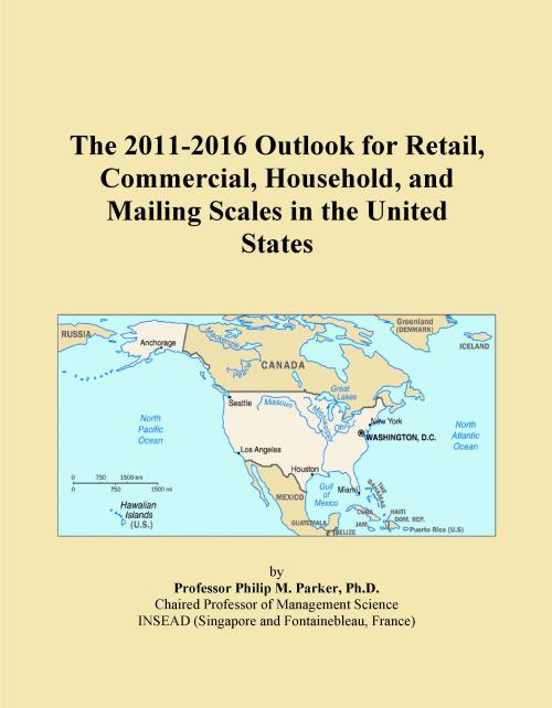 The 2011-2016 Outlook for Retail, Commercial, Household, and Mailing Scales in the United States - Product Image