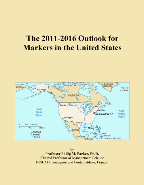 The 2011-2016 Outlook for Markers in the United States - Product Image