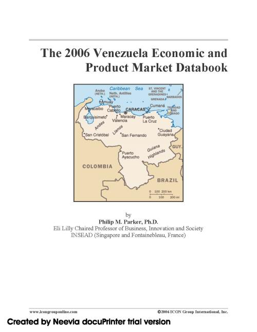 The 2006 Venezuela Economic and Product Market Databook - Product Image