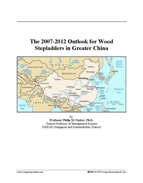 The 2007-2012 Outlook for Wood Stepladders in Greater China - Product Image