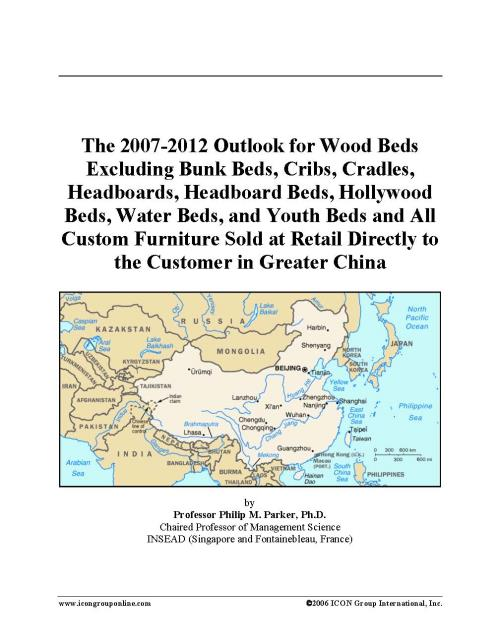 The 2007-2012 Outlook for Wood Beds Excluding Bunk Beds, Cribs, Cradles, Headboards, Headboard Beds, Hollywood Beds, Water Beds, and Youth Beds and All Custom Furniture Sold at Retail Directly to the Customer in Greater China - Product Image