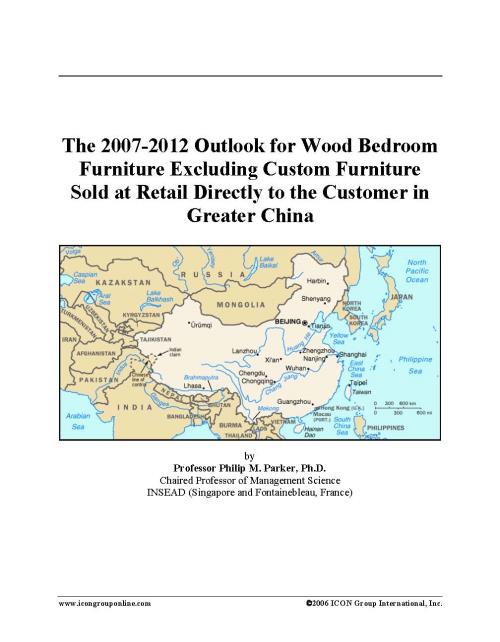 The 2007-2012 Outlook for Wood Bedroom Furniture Excluding Custom Furniture Sold at Retail Directly to the Customer in Greater China - Product Image