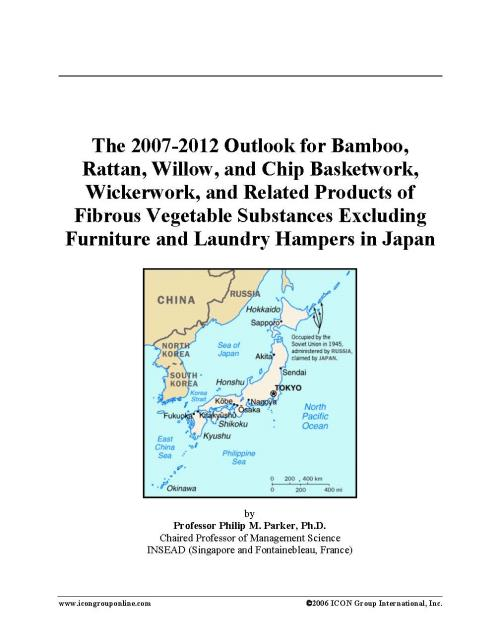 The 2007-2012 Outlook for Bamboo, Rattan, Willow, and Chip Basketwork, Wickerwork, and Related Products of Fibrous Vegetable Substances Excluding Furniture and Laundry Hampers in Japan - Product Image