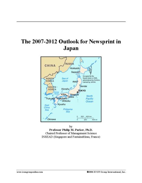 The 2007-2012 Outlook for Newsprint in Japan - Product Image