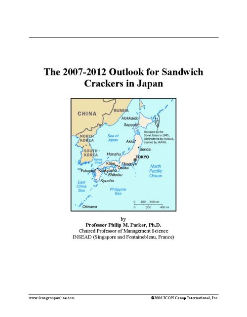 The 2007-2012 Outlook for Sandwich Crackers in Japan - Product Image