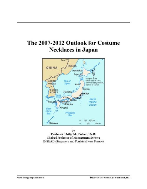 The 2007-2012 Outlook for Costume Necklaces in Japan - Product Image