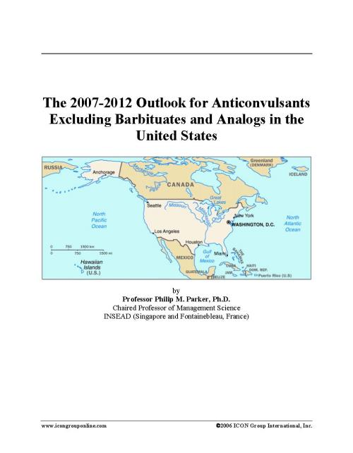 The 2007-2012 Outlook for Anticonvulsants Excluding Barbituates and Analogs in the United States - Product Image