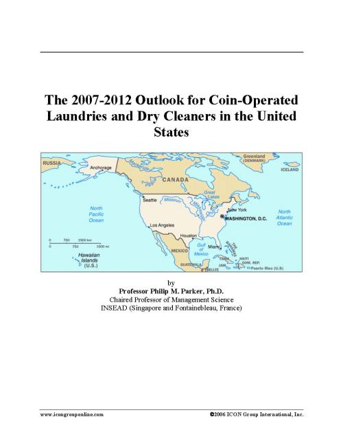 The 2007-2012 Outlook for Coin-Operated Laundries and Dry Cleaners in the United States - Product Image