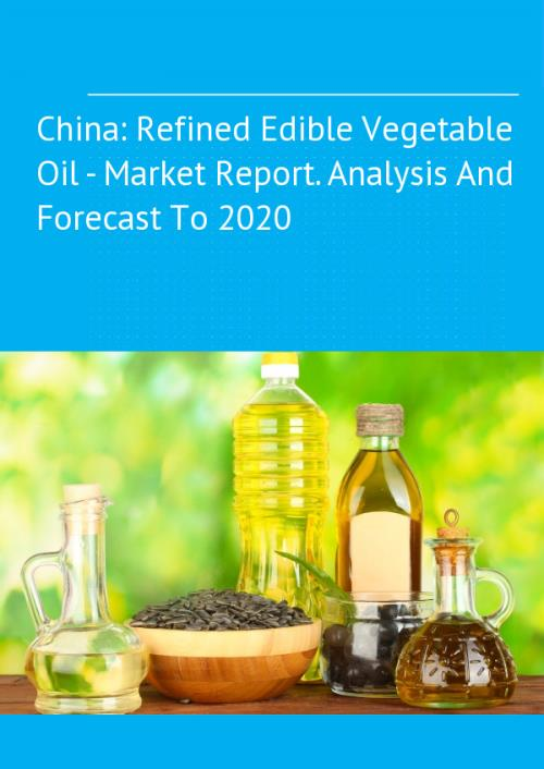 edible oil industry analysis The global edible oil market report is being classified into two major categories namely market by product type and by end use each segment is further divided into sub-segments for the overall analysis and understanding of the market.