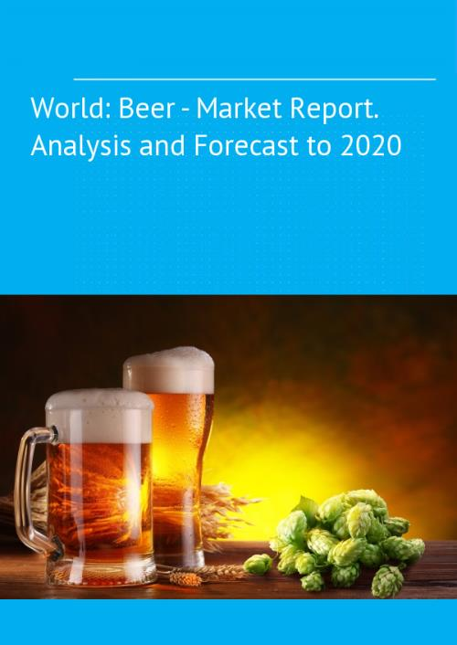 beer market analysis It is about production and marketing of beer, a product with a long and rich history  around the world but also in romania the analysis covers a period of seven.