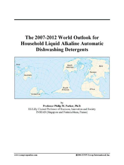 The 2007-2012 World Outlook for Household Liquid Alkaline Automatic Dishwashing Detergents - Product Image