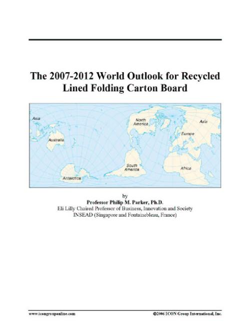 The 2007-2012 World Outlook for Recycled Lined Folding Carton Board - Product Image