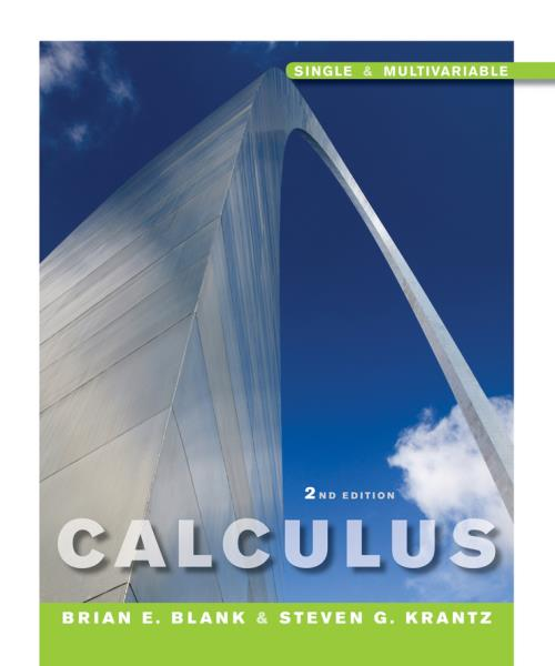 Calculus: Single and Multivariable, 2nd Edition - Product Image
