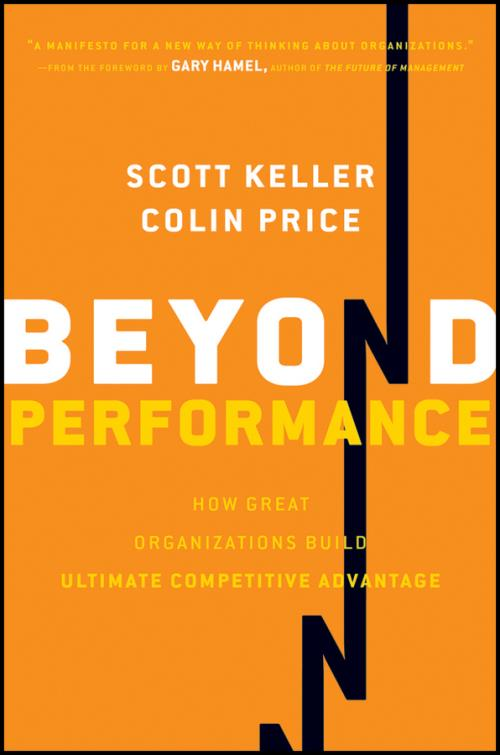 Beyond Performance. How Great Organizations Build Ultimate Competitive Advantage - Product Image
