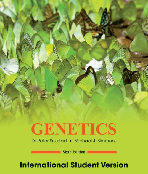 Genetics. 6th Edition International Student Version - Product Image