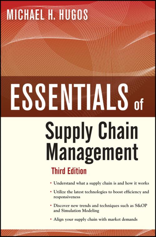 Essentials of Supply Chain Management. 3rd Edition. Essentials Series - Product Image