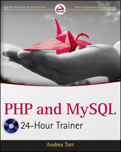 PHP and MySQL 24-Hour Trainer - Product Image