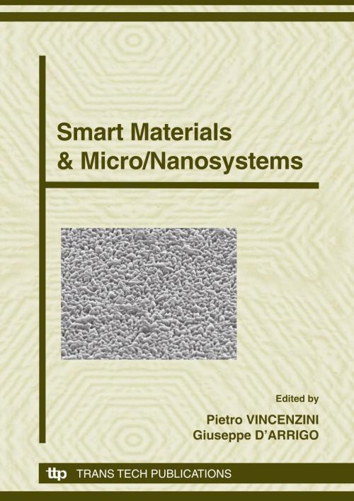 Smart Materials & Micro/Nanosystems - Product Image