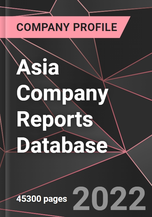 Asia Company Reports Database Research And Markets